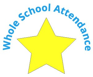 Whole School Attendance Title Star